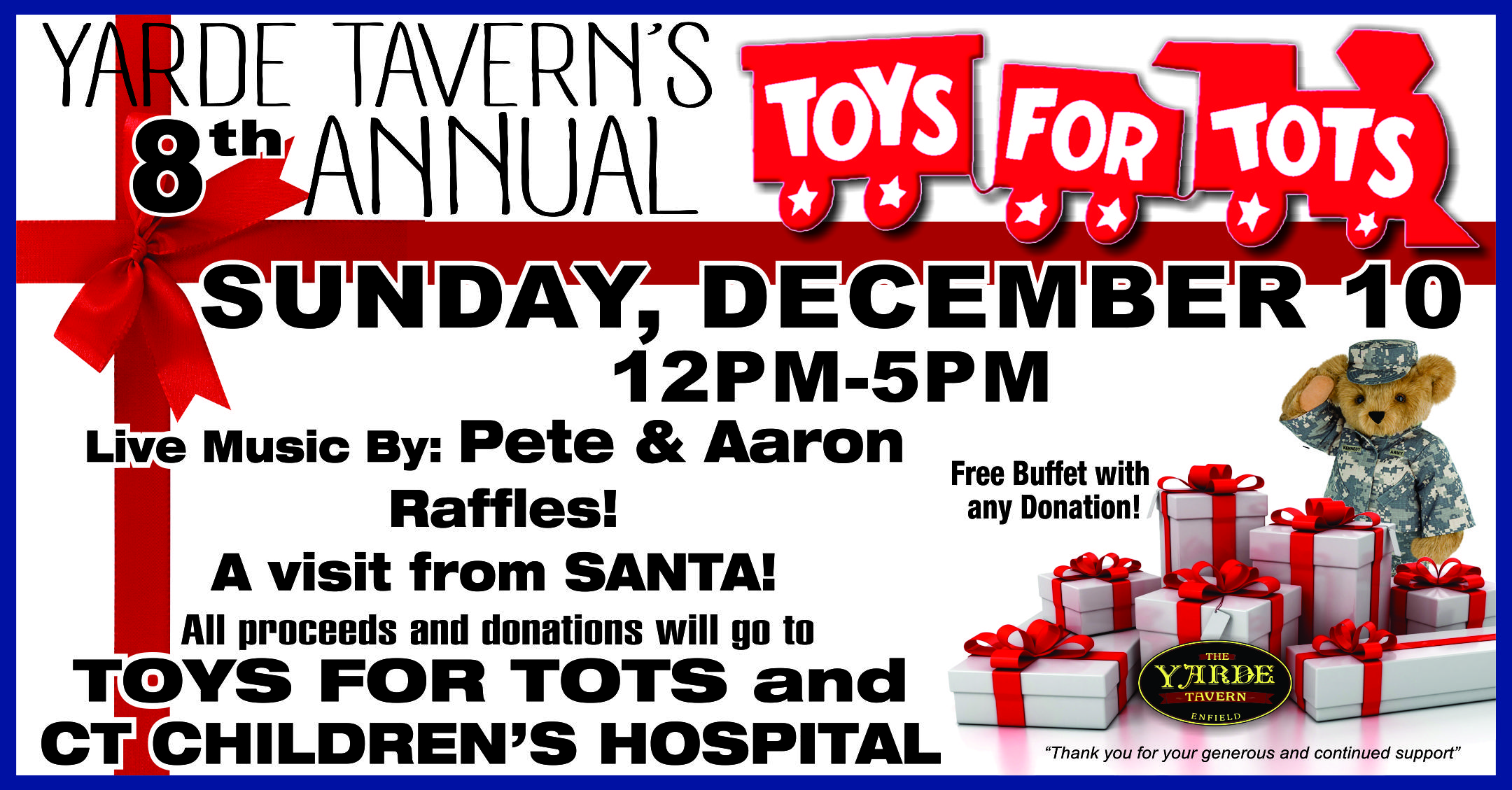 Police Toys For Tots 2017 : Toys for tots ct wow